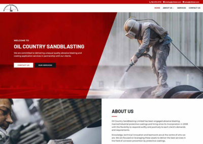 Oil Country Sandblasting